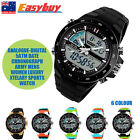 5ATM Date Chronograph Army Mens Women Luxury Analogue-Digital Sports Watch