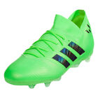 adidas Kids Nemeziz Messi 18.1 FG Solar Green/Core Black DB2361
