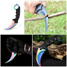Sharp Claw Shape Fixed Blade Knife Tactical Hunting Camping Survival Tool Flower
