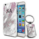 Personalised Marble Design Phone Case Cover & Keyring for Various Phones - 275