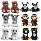 Lovely Funny Expression Stuffed Doll Feisty Animal Pets Toys Scary Face Gift New