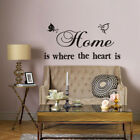 Art Vinyl Word Quote Family Wall Stickers Mural Home Bedroom Living Room Decal