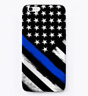Thin Blue Line Flag Gift Phone Case iPhone