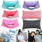 Soft Travel Eye Mask Sleep Pillow Neck Support Head Cushion Cover Rest Sleeping