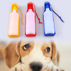 Dog Portable Travel Water Bottle Dispenser Drinking Container with a Dog Leash
