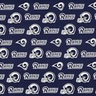 "Los Angeles Rams NFL Football Valance Curtain Choose:40"", 52"", 80"" x 13"" $42.0 USD on eBay"