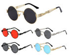 ROUND CLASSIC LUXURY SUNGLASSES LENNON CIRCLE STEAMPUNK HIP