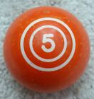 Vintage #5 Ball Pool Ball, Antique Billiard Ball, Many Sizes & Styles SHIPS FREE