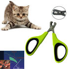 Pet Cleaning Stainless Steel Nail Dog Cat Scissors Claw Cutter Trimmer Glitzy