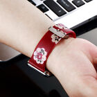 Charms  Birds Flower Silicone Wrist Band Strap For Apple Watch Series 38mm 42mm