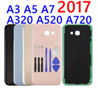 Back Door Glass Rear Battery Cover Housing Case For Samsung Galaxy A3 A5 A7 2017