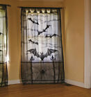 USA Halloween Bat Lace Props Table Lamp Cover Curtain Fireplace Cloth Home Decor