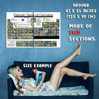 153352 Periodic Table of Cannabis Art Wall Print Poster UK