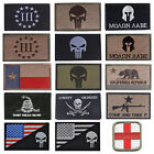 Hot Lots Of USA American Tactical Patch US Army Morale Military Badge Patches