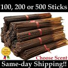 Premium Incense Sticks Aroma Depot Hand Dipped 100 200 500 Pack Pick Amount Bulk for sale  Plainfield