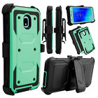 For Samsung Galaxy J3 V 2018/ Orbit/ Star/ Achieve Clip Holster Stand Case Cover
