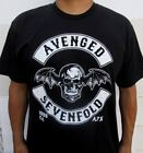 AVENGED SEVENFOLD METAL ROCK MEN's T SHIRT SIZES image