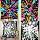 Forest Tree Of Life Tapestry Hippie Tie Dye Indian Wall Hanging Twin Tapestries