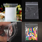 GripSeal bags Resealable Clear ZIP LOCK SIZES IN INCHES all Sizes Polythene