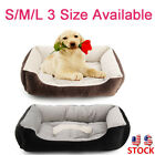 Pet Dog Cat Bed Mattress Basket Soft Nest Cushion Warm Sofa House Washable Mat