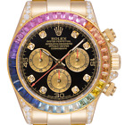 Condition	Used / PreOwned Rolex Cosmograph Daytona Rainbow Edition Quartz Mens