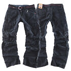 Timezone Herren Worker Jeans Cargo Hose Benito TZ 9091 washed black NEW