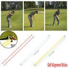1Pair Practice Exercice Rod Training Aid Golf Indicator Alignment Sticks 3 COLOR