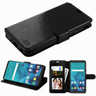 For LG Stylo 4 Leather Flip Wallet Fold Protective Phone Case Cover Book Magnet