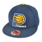 NBA Mitchell Ness TK40 Indiana Pacers Navy Fitted Alternate Hat Cap on eBay
