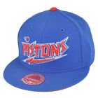 NBA Mitchell Ness TK40 Detroit Pistons Alternate Fitted Flat Bill Hat Cap on eBay
