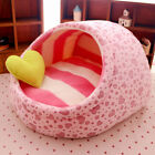 New Cute Slipper Design Pet Cat Dog Princess Bed Nest Washable Small Dogs Warm