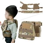 Children Tactical Vest Military MOLLE Kid for Airsoft Paintball CS Game