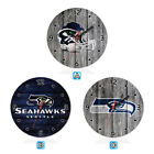 Seattle Seahawks Football Wall Clock Home Office Room Decor Gift on eBay