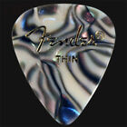 Fender Abalone Thin Guitar Picks / Plectrums - In Packs Of 6 10 12 20 24 36
