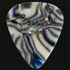 Fender Abalone Thin Guitar Picks / Plectrums - Choice Of Quantities