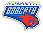 Charlotte Bobcats NBA Basketball  Car Bumper Sticker - 9'', 12'' or 14'' on eBay