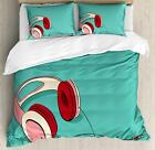 Retro Indie Duvet Cover Set Twin Queen King Sizes with Pillow Shams