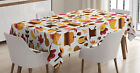 Harvest Tablecloth by Ambesonne 3 Sizes Rectangular Table Cover Decor