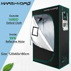 MarsHydro Indoor Grow Tent Plants Room 100% Reflective Mylar Hut Home Box Room