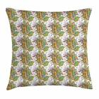 Spring Botany Throw Pillow Cases Cushion Covers Home Decor 8 Sizes by Ambesonne