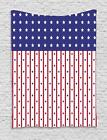 USA Tapestry Wall Hanging Decoration for Room 2 Sizes Ambesonne