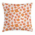 Tea Throw Pillow Cases Cushion Covers Home Decor 8 Sizes by Ambesonne