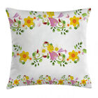 Daffaodil Throw Pillow Cases Cushion Covers Home Decor 8 Sizes Ambesonne