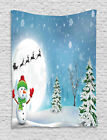 Festive Holiday Tapestry Wall Hanging Art Decoration for Room 2 Sizes