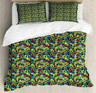 Colorful Arrangement Duvet Cover Set Twin Queen King Sizes with Pillow Shams
