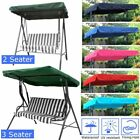 7 Colors Fabric 2 & 3 Seater Garden Swing Chair Replacement Canopy Spare Cover