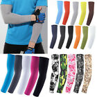 1 Pair Arm Sleeves Cover UV Sun Protection Outdoor Sports Arm Warmer Breathable