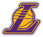 Los Angeles Lakers NBA Basketball Symbol  Car Bumper Sticker- 9'', 12'' or 14'' on eBay