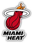 Miami Heat NBA Basketball Combo Red  Car Bumper Sticker - 9'', 12'' or 14'' on eBay