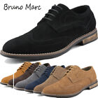 BRUNO MARC NEW YORK Mens Urban Suede Leather Lace up Oxfords Shoes